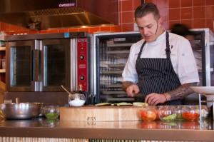 Chef Kyle Barham