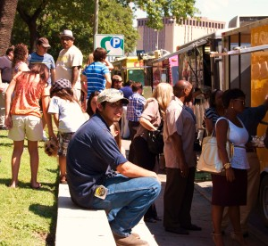 Restaurant Week on the Move, at Travis Park