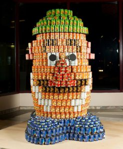 © The Watering Mouth, 2012,  http://thewateringmouth.com/canstruction-exhibition-2010-nyc/