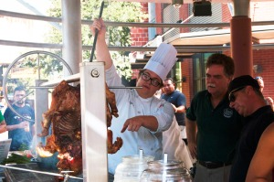 Roasting pork for Breakfast tacos