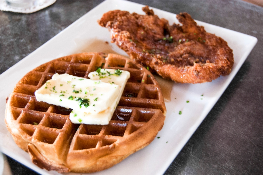 'THE' Chicken meets the Waffle
