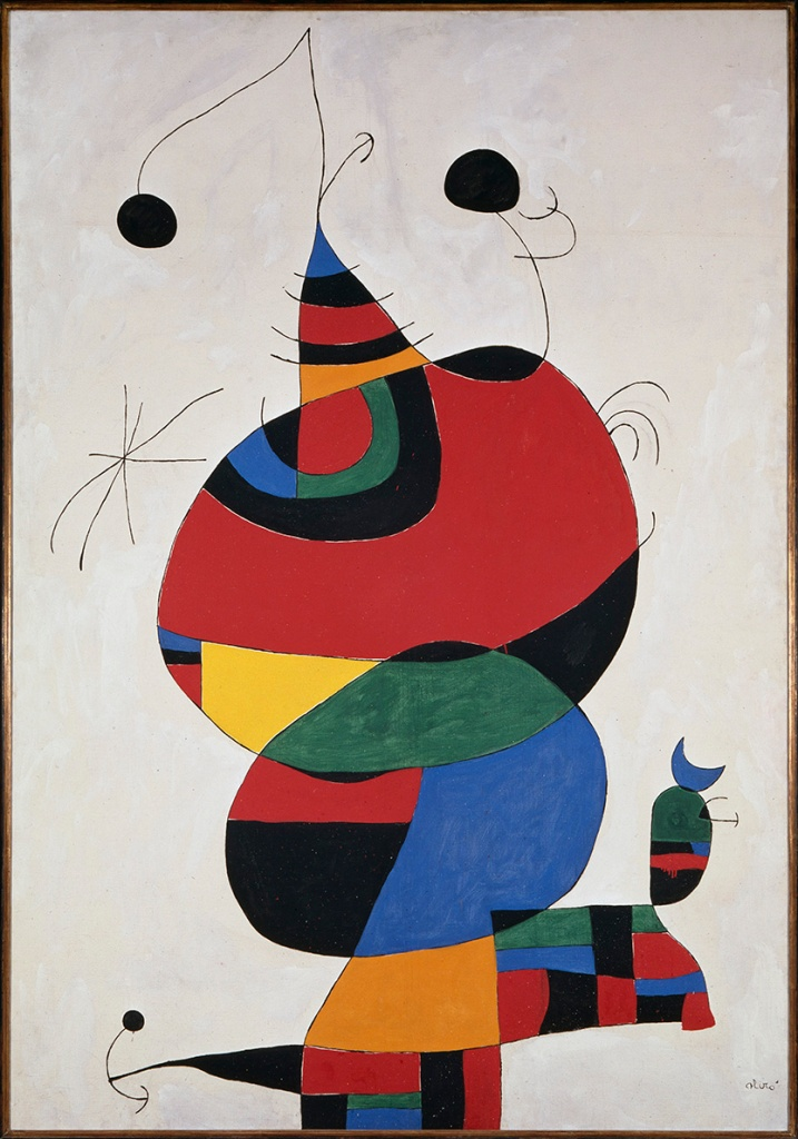 Miro dedicated his most iconic painting,